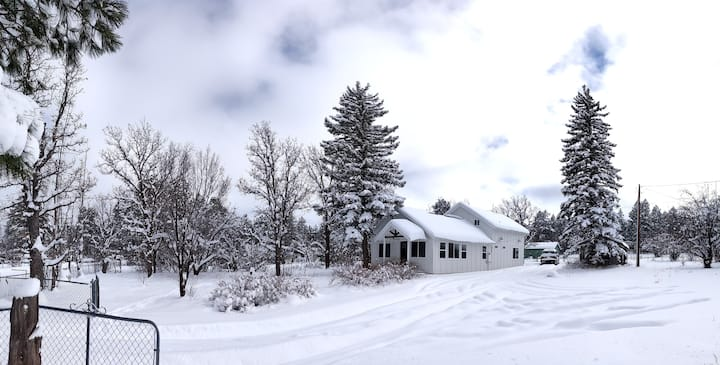 Winter Wonderland!  New Cabin in Lakeside, AZ