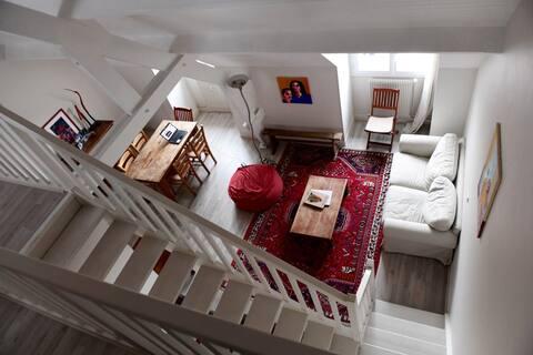 Duplex lumineux dans Senlis