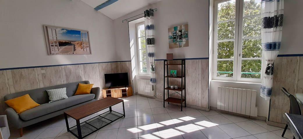 Appartement au coeur de La Flotte