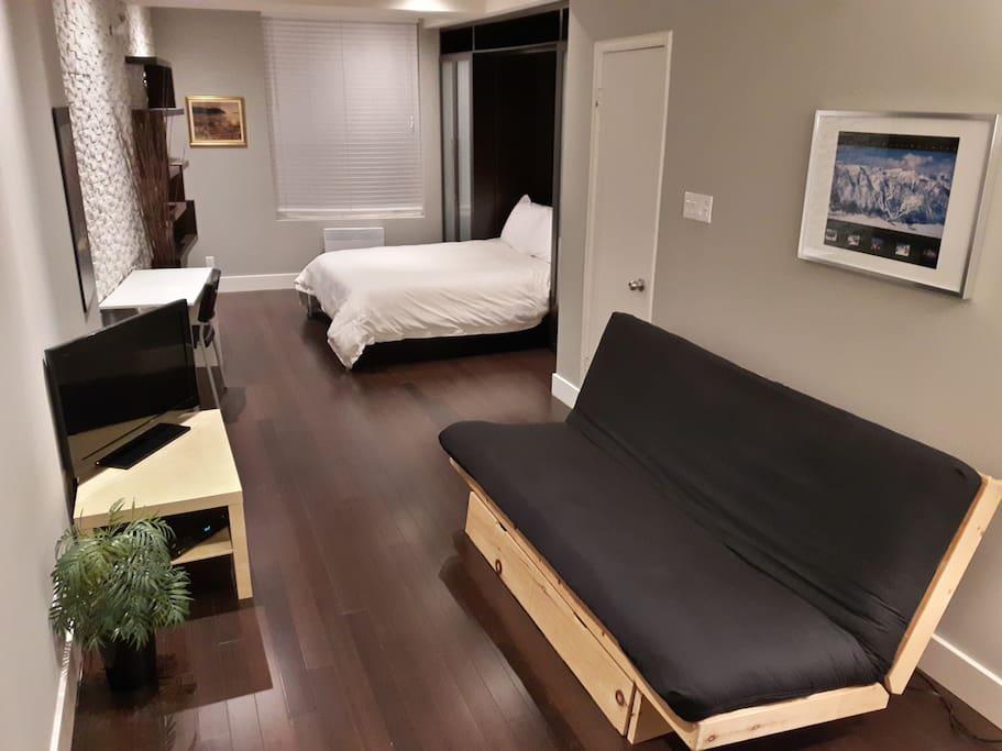 Quebec studio 403 downtown loft lofts louer ville de for Equipement de cuisine quebec