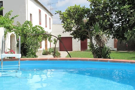 Splendid Mansion in St Martí Sarroca with Garden