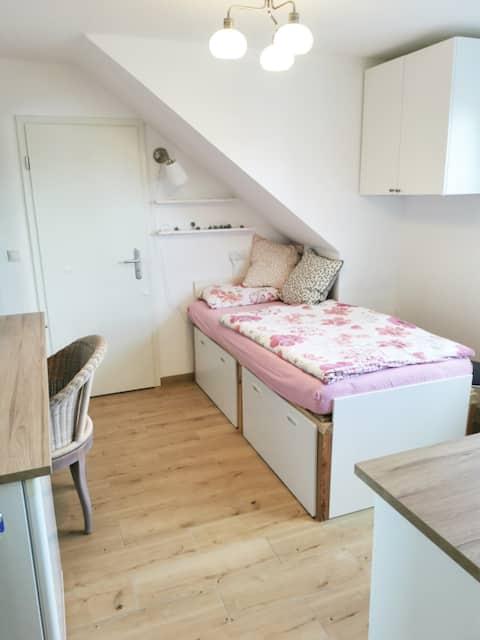 GENIALES Apartment mit eigenem Bad und Küche!