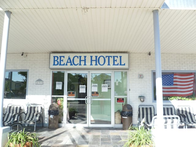 Hotel Rms W/Full bath.  Near Beach - Wildwood - Diğer
