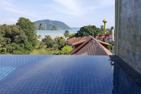 Seaview Duplex Private Pool Villa - Rawai