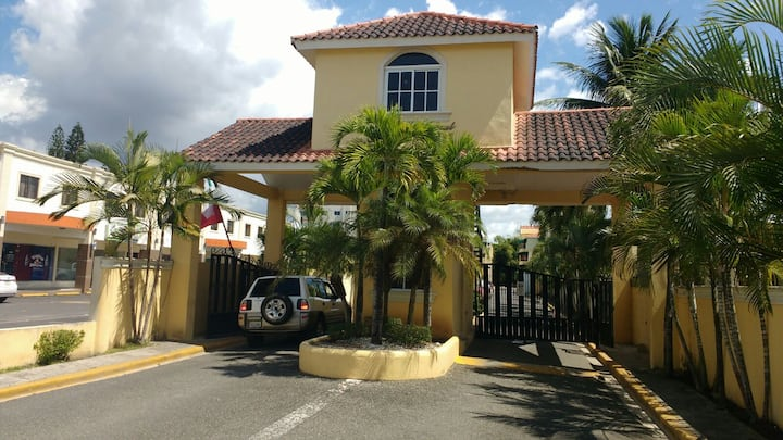 Centrally located gated apartment