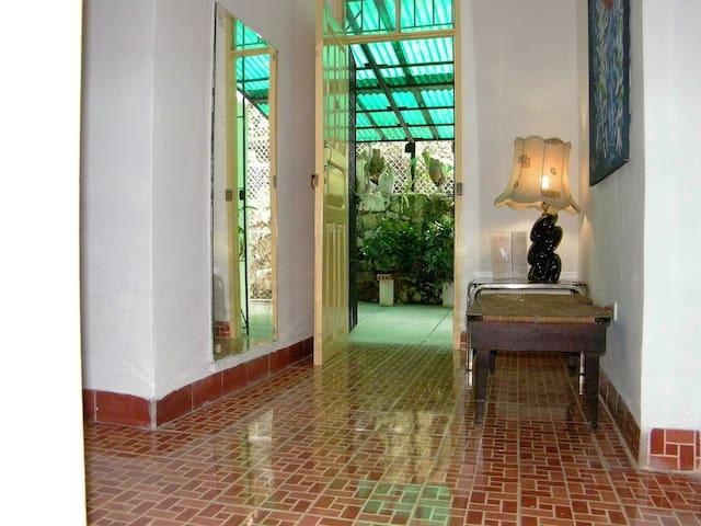Hall de entrada al apartamento
