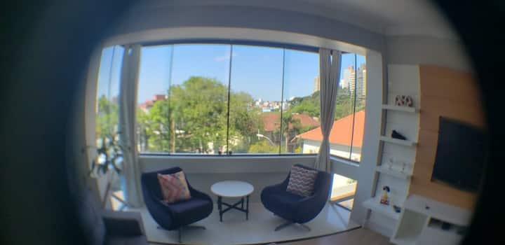 Apartamento inteiro próximo a Maria Fumaça