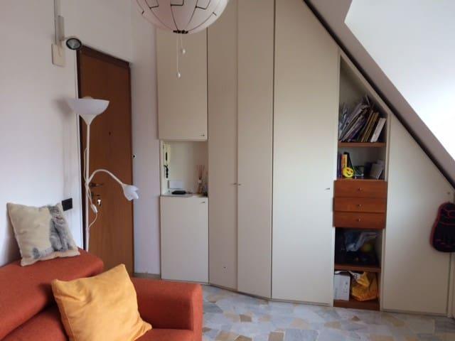 Accogliente mansarda Melegnano centro - Melegnano - Apartemen