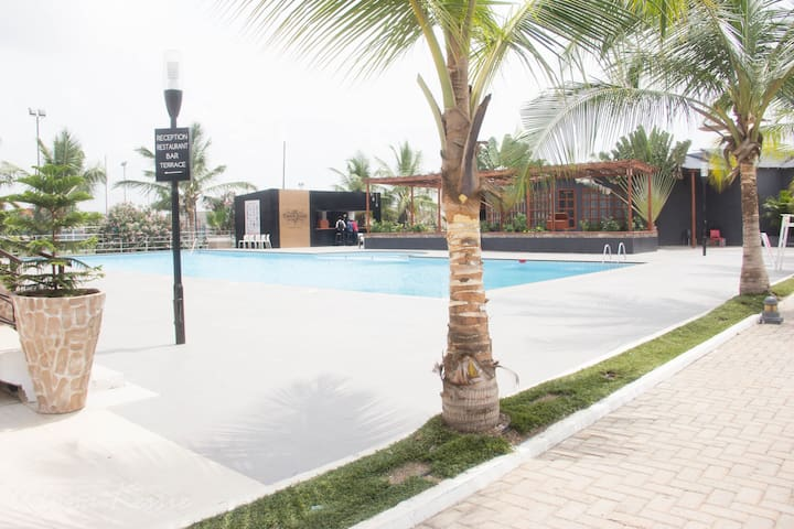 Accra : 1-Bed Apartment with Pool and Gym (F9) - Accra - Apartamento