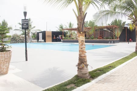 Accra : 1-Bed Apartment with Pool and Gym (F9) - Accra - Huoneisto