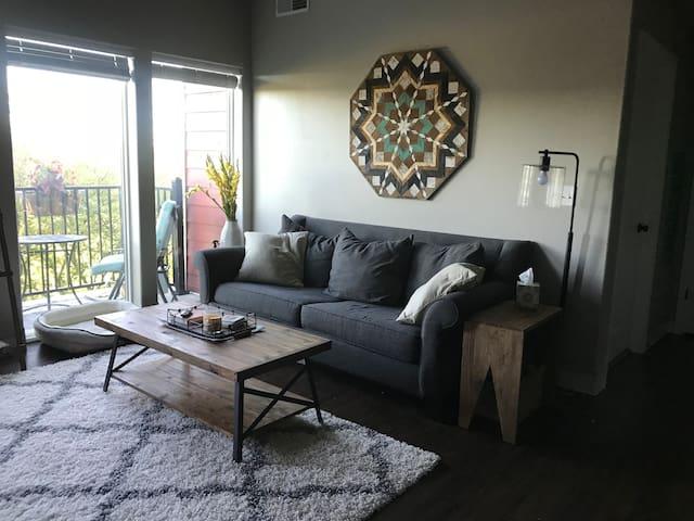 Welcome! Cozy Eastside Apartment- Iowa City, IA