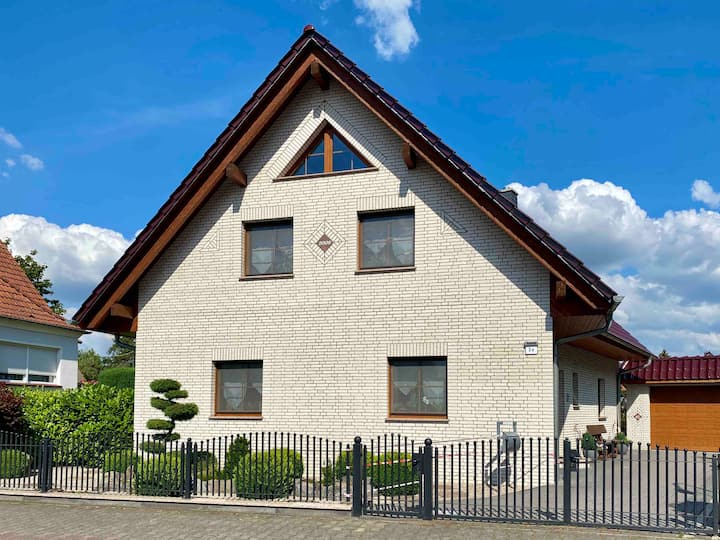 Idyllisches Haus nahe der Kyritzer Seenkette