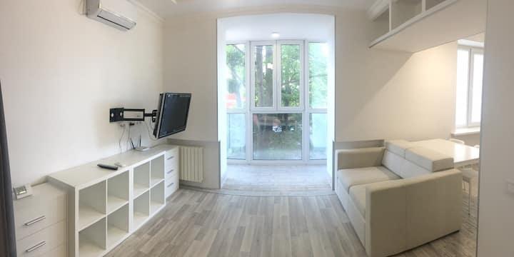 Perfect studio apartment in center of Poltava