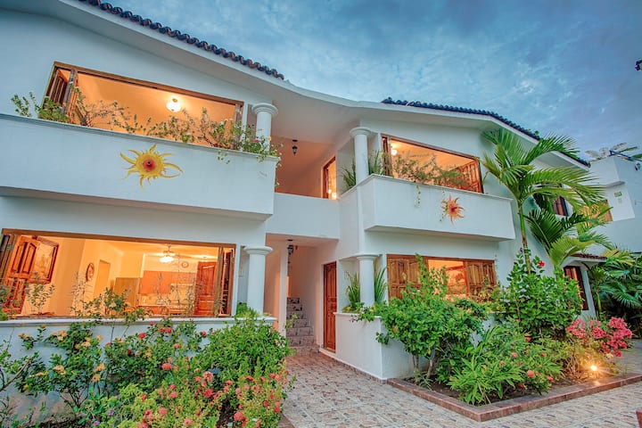 Casa villa del sol 15 rooms up to 30 person