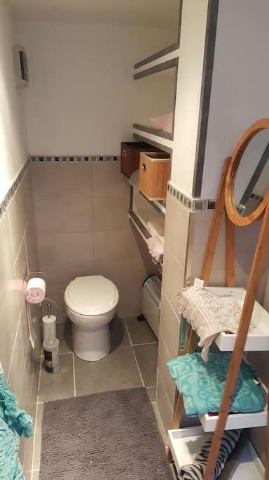 Salle d'eau ( toilette)
