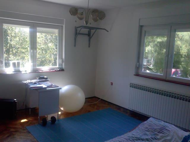 A big Fight club style room :) - Zagreb - Apartment