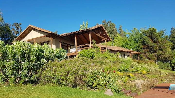Espectacular casa Lago Rapel Sector Rapelco