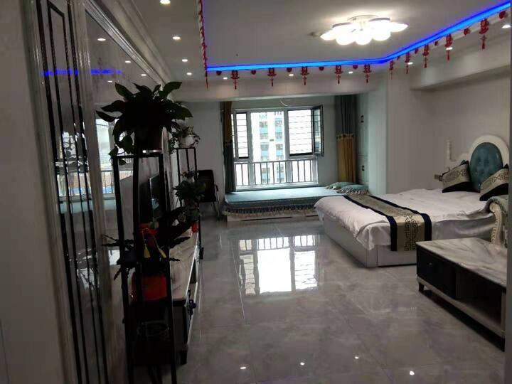 万达阳光公寓/婚房/日租房/月租房