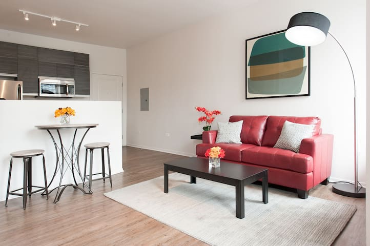 Bright 1BR in the South Loop by Sonder