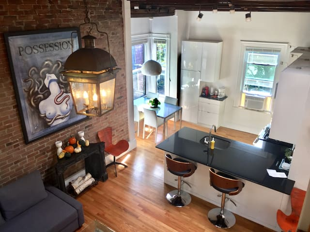 100 Year Old Loft by Harvard Square