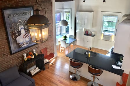 Gorgeous, 100 Year Old Loft by Harvard Square - Cambridge