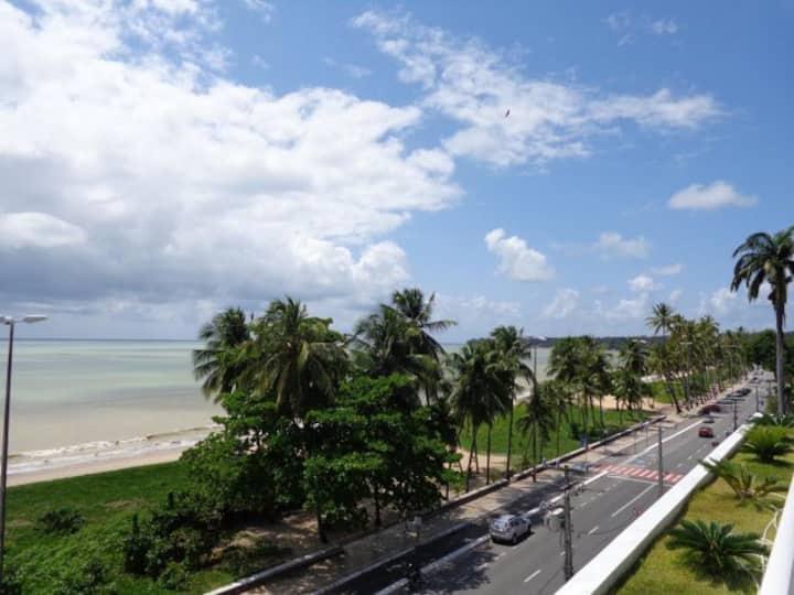 Front sea studio in Cabo Branco Beach
