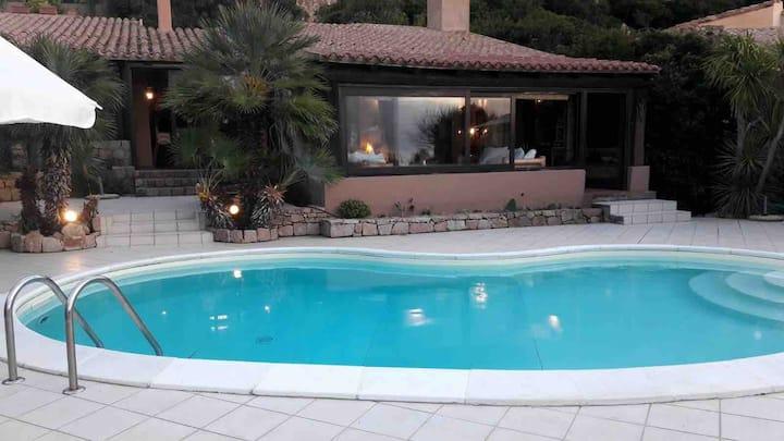 Villa with Pool Sea View Costa Paradiso