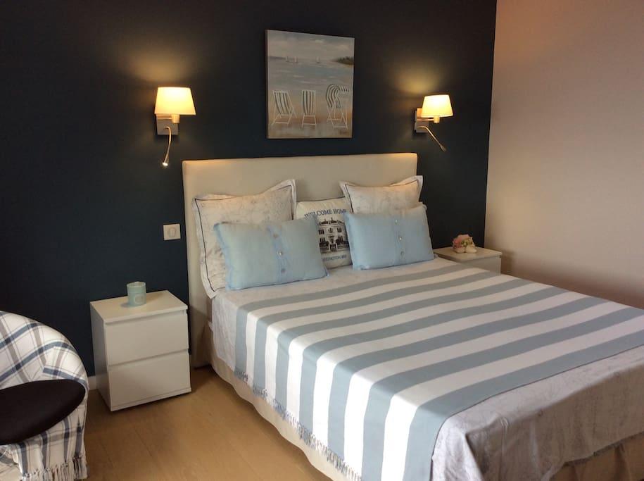 chambre confortable carteret maisons louer barneville carteret normandie france. Black Bedroom Furniture Sets. Home Design Ideas