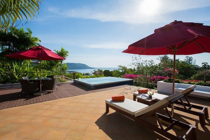 Kata gardens Luxury sea view penthouse 6C