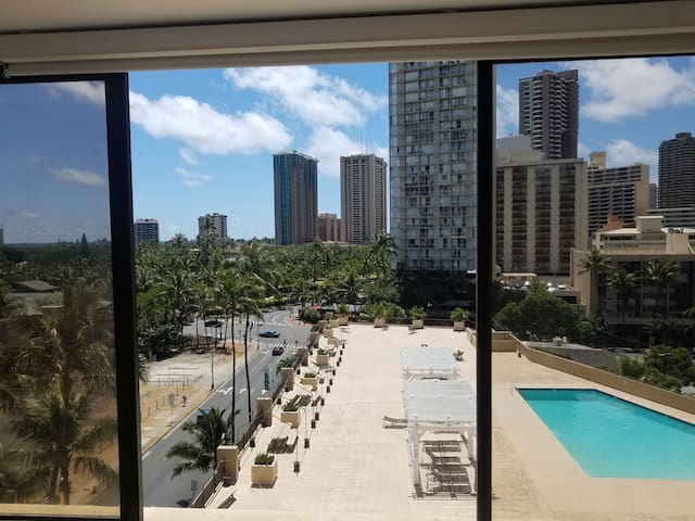 Remodeled studio in Waikiki  BEST LOCATION