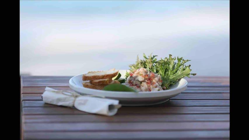 Our restaurant Blue Island Punta Rucia