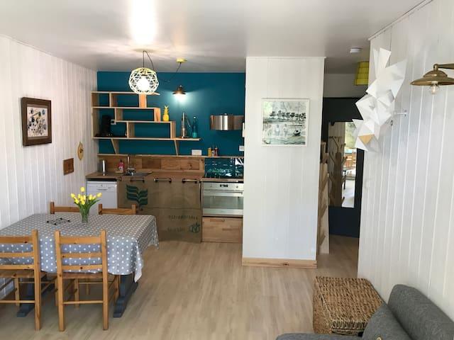 Appartement sur le Bassin d'Arcachon Arès