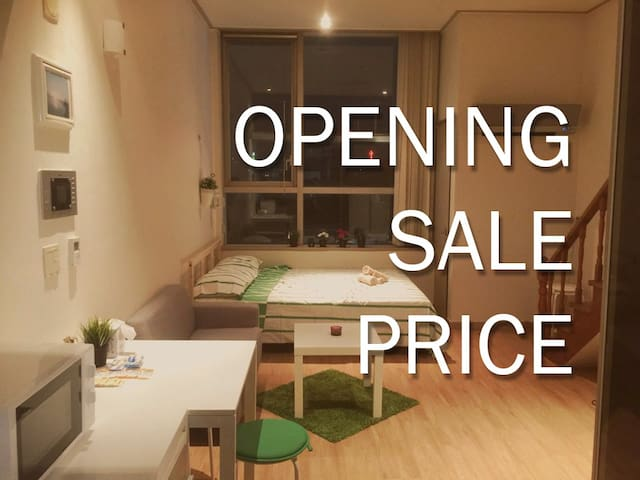 Duplex(Loft) Style City Studio - near Hongdae