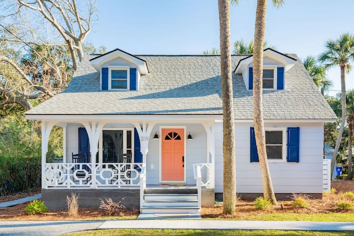 NEW Folly Vacation Listing Beautiful Beach Cottage