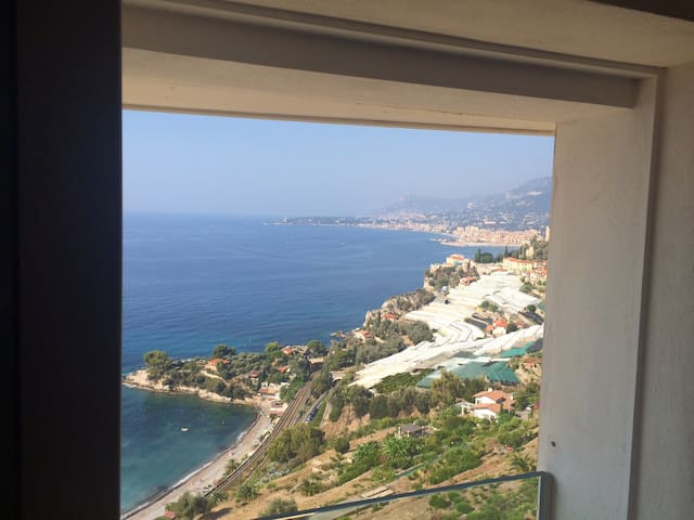 You can see Menton (5 min to get there) and Montecarlo (30 min).