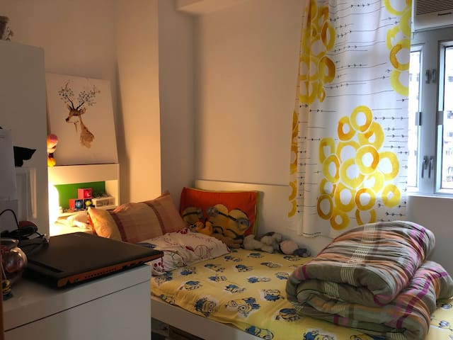 Private Bedroom in Central/ SOHO. HK Island