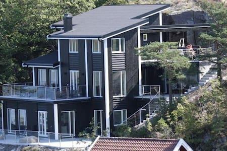 Eksklusivt nytt hus 5m fra sjøen i Sørlandsleia - Arendal