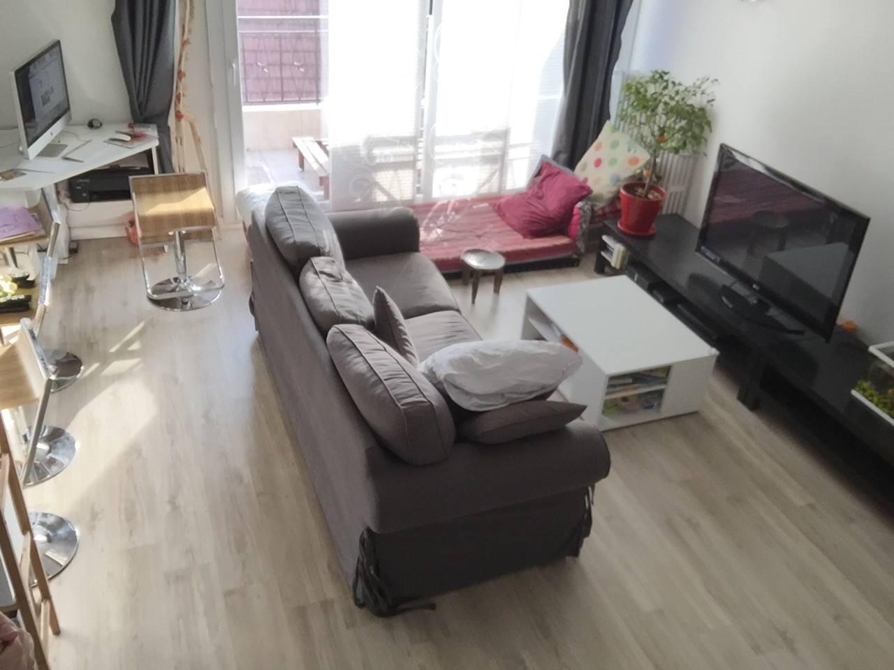 Salon espace partagé