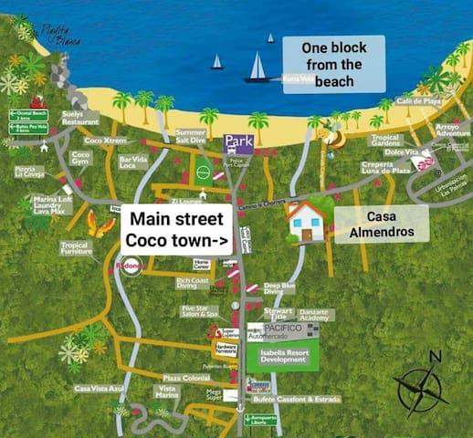 illustrative map!