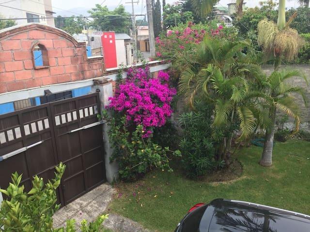Casa en Morelos con amplio Jardín