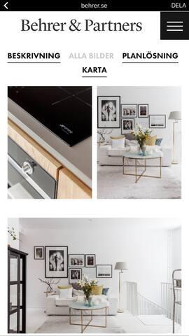 AMAZING TWOO FLOOR APARTMENT - Estocolmo - Apartamento