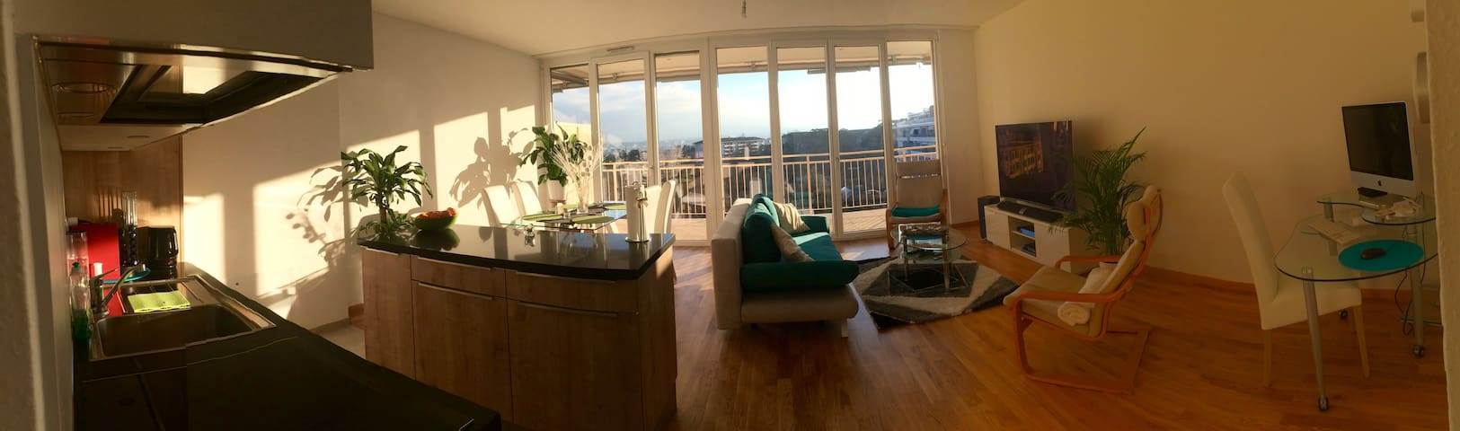 Amazing apartment (UN/City Center) w/Balcony&view) - Genève - Apartment