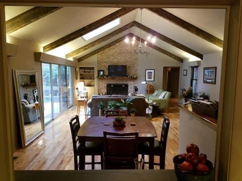 9 Iron to Pinehurst Village at Ivy Kirk Cottage