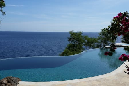 Private Paradise: Villa with big Pool&Ocean-access - 巴厘岛 - 别墅
