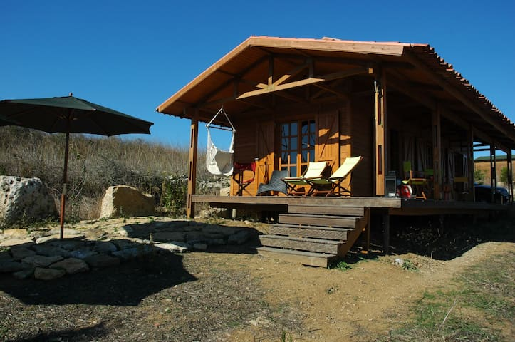 Cozy log cabin between Sintra and Ericeira