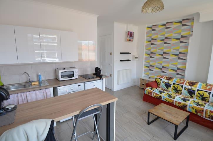 Bel appartement à Nice avec balcon