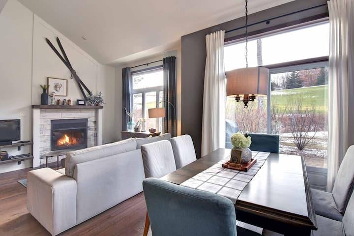 Stunning 3-Bedroom Tremblant Home Ski/Golf/Bike