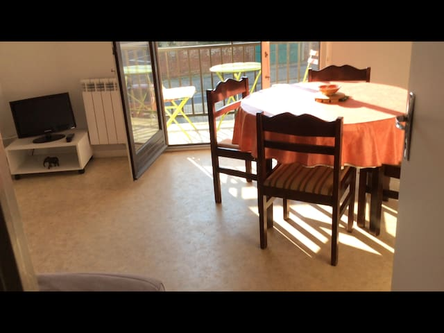 Résidence calme proche de la mer avec balcon - Berck - Apartament