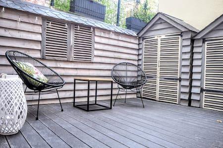 Studio cocooning avec belle terrasse Trouville