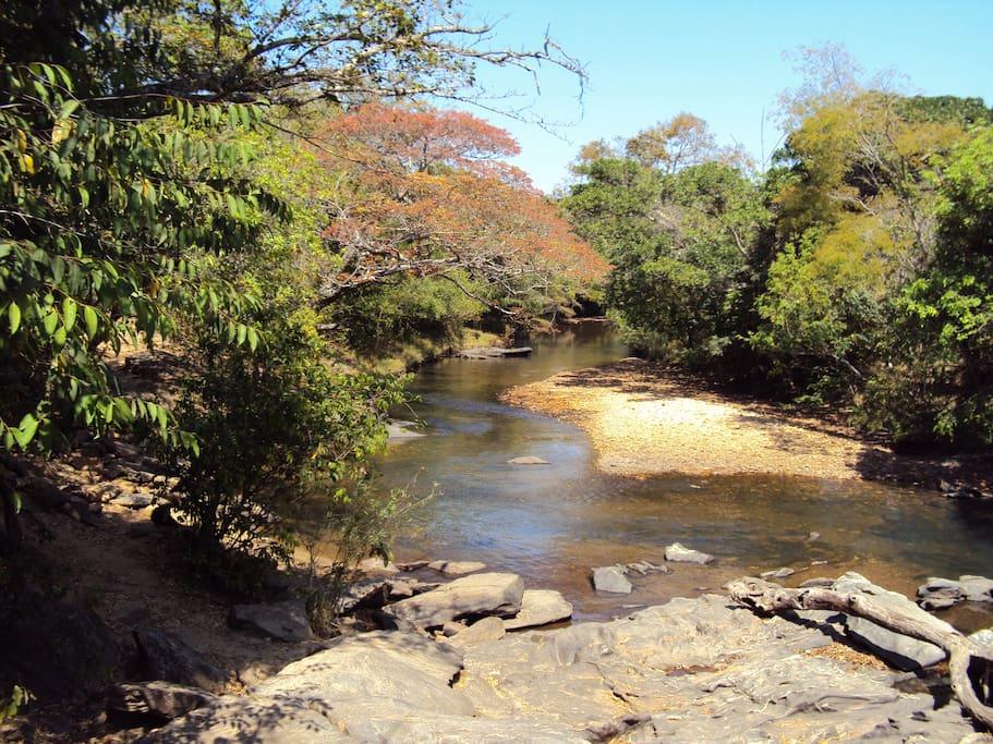 rio das almas a 300m